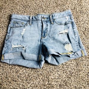 a.n.a Distressed Shorts